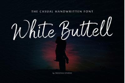 White Buttell Font