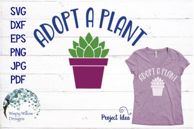 Adopt A Plant SVG