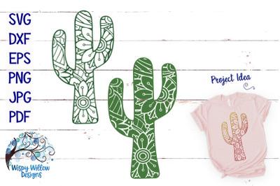 Mandala Cactus SVG Bundle