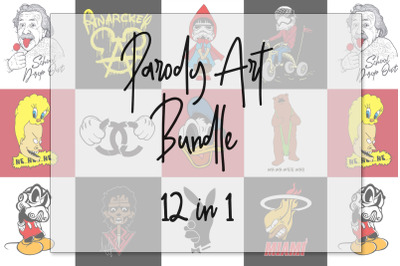 Parody Art 12 in 1 Bundle