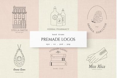 Premade Logo Set