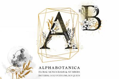 ALPHABOTANICA: Monograms & More