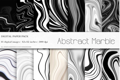 Marble Background, Abstract Marble Digital Papers
