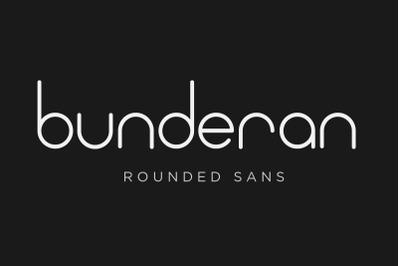 Bunderan Rounded Sans