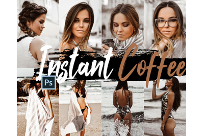 Neo Instant Coffee Color Grading photoshop actions