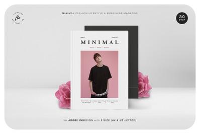 MINIMAL Fashion Lifestyle & Bussiness Magazine