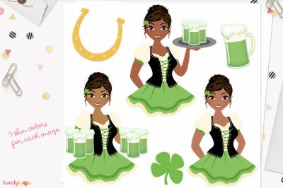 St Patrick's Day clipart (L372 Cassie)