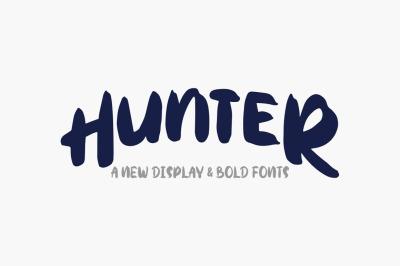Hunter Typeface