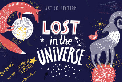Lost in the Universe - Art Collection