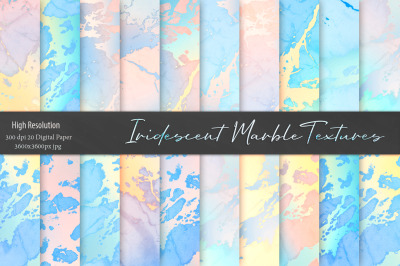 Iridescent Marble Textures