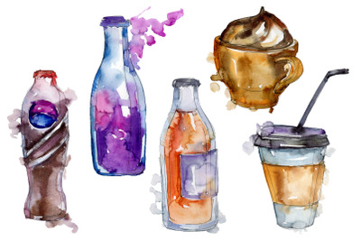 Drinks Juliet Watercolor png