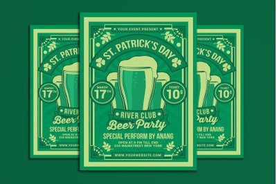St. Patrick Day Beer Party