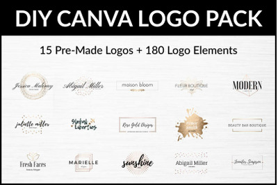 DIY Logo Pack for Canva