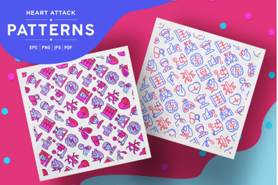 Heart Attack Patterns Collection