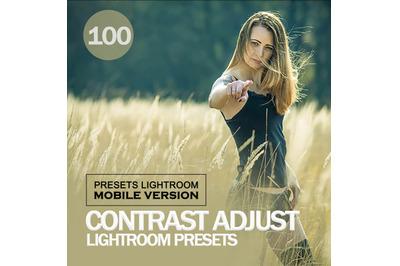 Contrast Adjust Lightroom CC Mobile Presets (Adroid and Iphone/Ipad)