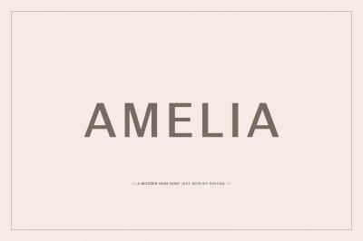 Amelia - Sans Serif