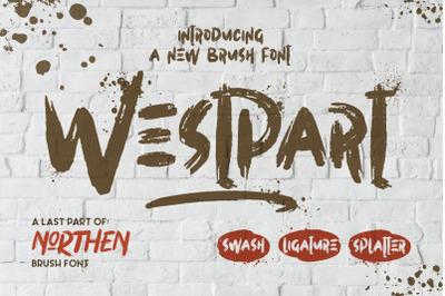 Westpart Brush Fonts