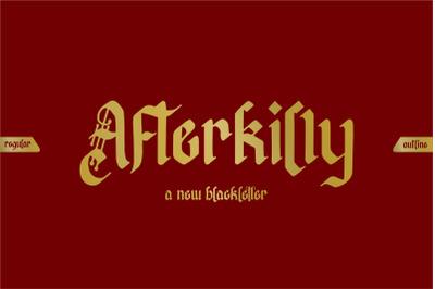 Afterkilly Blackletter