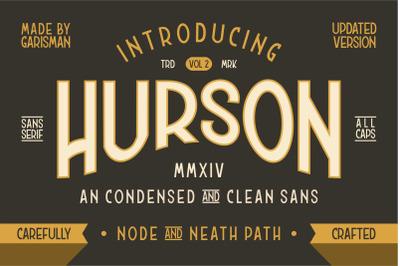 HURSON Clean Sans