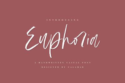 Euphoria | Handwritten Font