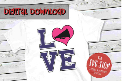 Love Cheer 5 -SVG, PNG, DXF