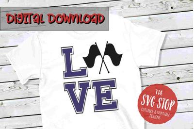 Love Color Guard 2 -SVG, PNG, DXF