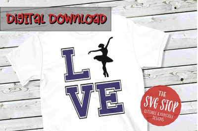 Love Dance - SVG, PNG, DXF