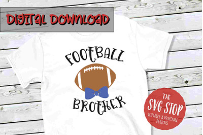 Football Brother -SVG, PNG, DXF
