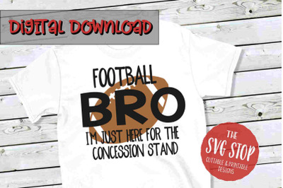 Football Bro -SVG, PNG, DXF