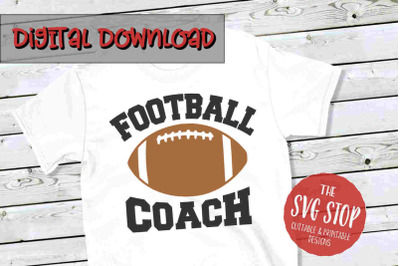 Football Coach -SVG, PNG, DXF