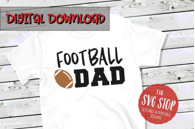 Football Dad -SVG, PNG, DXF