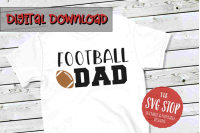 Football Dad 2-SVG, PNG, DXF