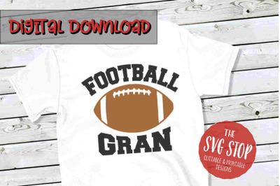 Football Gran -SVG, PNG, DXF