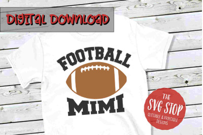 Football Mimi -SVG, PNG, DXF