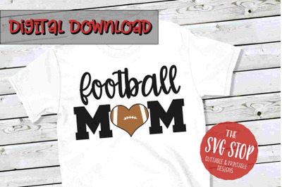 Football Mom -SVG, PNG, DXF