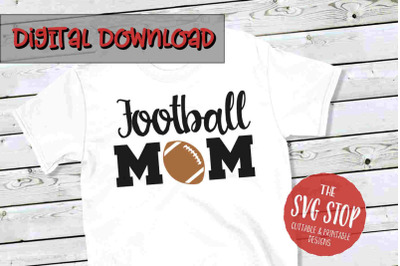 Football Mom 2 -SVG, PNG, DXF