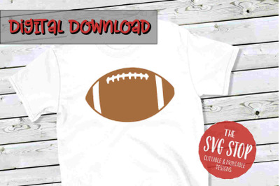 Football -SVG, PNG, DXF