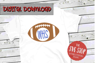 Football 2-SVG, PNG, DXF