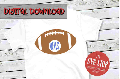 Football 3-SVG, PNG, DXF