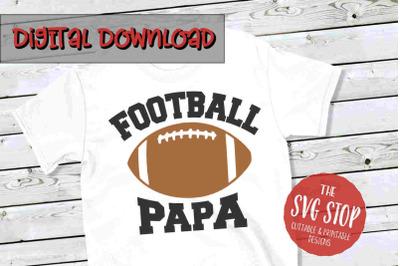 Football Papa-SVG, PNG, DXF