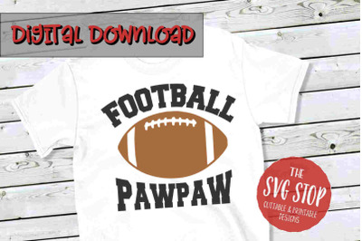 Football Pawpaw -SVG, PNG, DXF