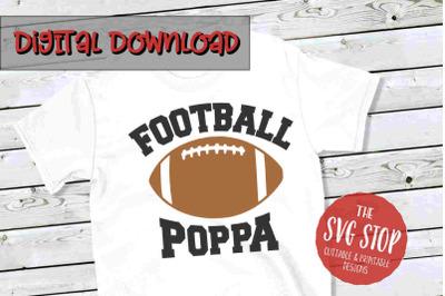 Football Poppa -SVG, PNG, DXF
