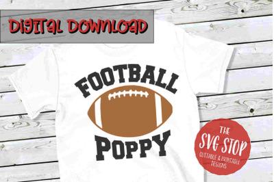 Football Poppy -SVG, PNG, DXF