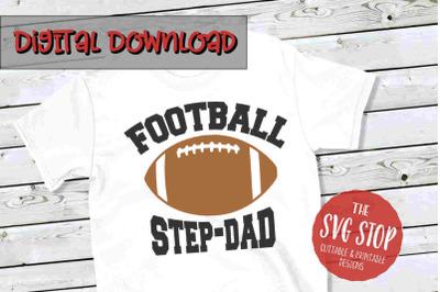 Football Stepdad-SVG, PNG, DXF