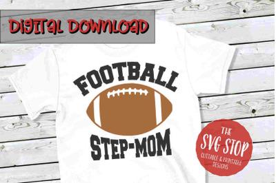 Football Stepmom-SVG, PNG, DXF
