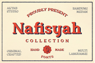 Nafisyah Slab Display Font