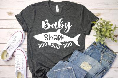 Baby Shark SVG Doo Doo Doo Sea World Family funny Best Birthday 1303S