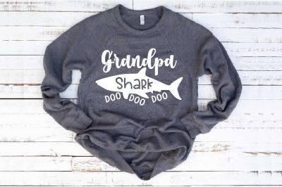 bab3a221d Grandpa Shark SVG Doo Doo Doo Father's Day papa Sea World Shower 1307S