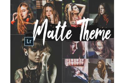 eo Matte Theme Desktop Lightroom Presets