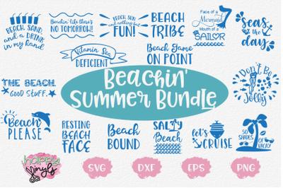 Beachin' Summer Bundle - A Summer SVG Bundle